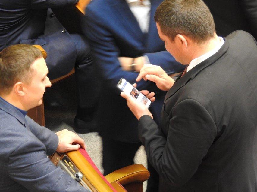 Юрий Вознюк с новеньким iPhone XS Max - фото 151546