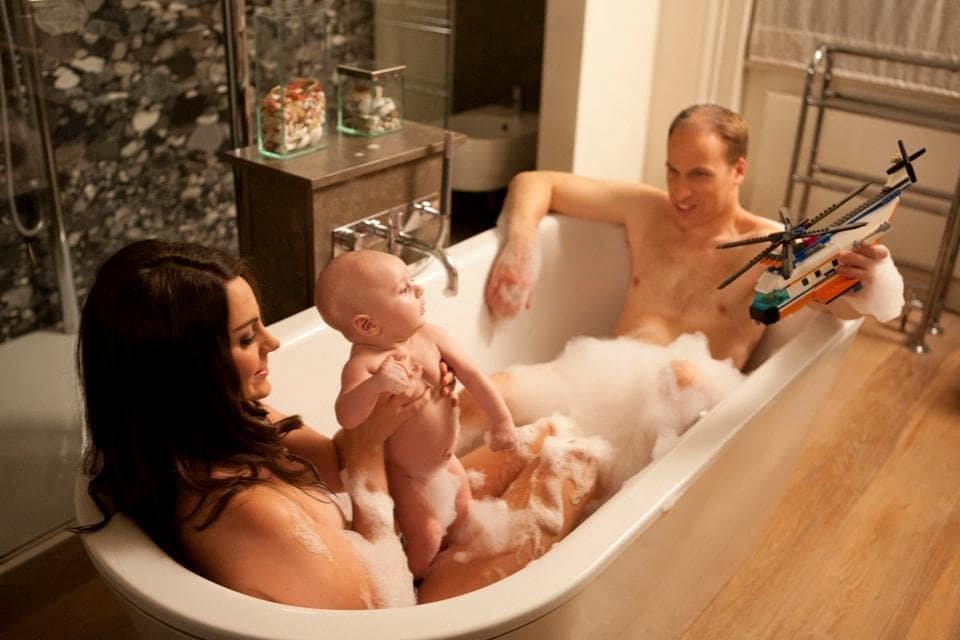 Интимные фото двойников Кейт Миддлтон, принца Уильяма и Меган Маркл слили в сеть - фото 151598