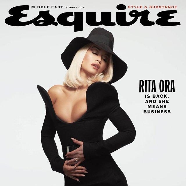 Актриса «50 оттенков серого» Рита Ора сфотографировалась полностью голой (фото, 18+) - фото 151840