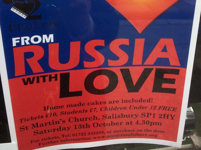 В Солсбери пройдет концерт 'Из России с любовью' - фото 152035