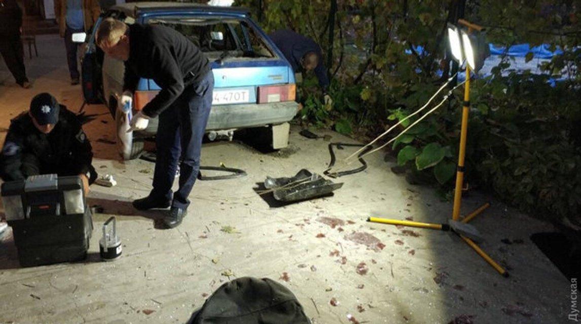 В Одесской области взорвали авто чиновницы (фото) - фото 152095