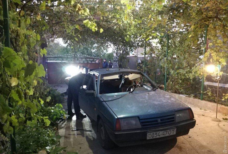 В Одесской области взорвали авто чиновницы (фото) - фото 152096