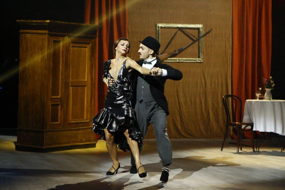 Танці з зірками 2018 7 выпуск: вечер легенд Игорь Ласточкин и Илона Гвоздева - фото 152301