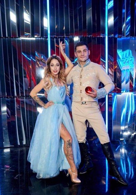 Танці з зірками 2018 7 выпуск: Денис Беринчик и Катя Белявская - фото 152337