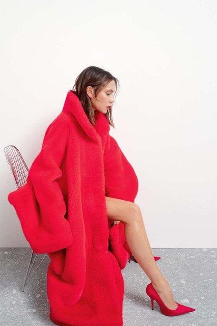 Виктория Бекхэм в странном наряде снялась для модного глянца - фото 153345