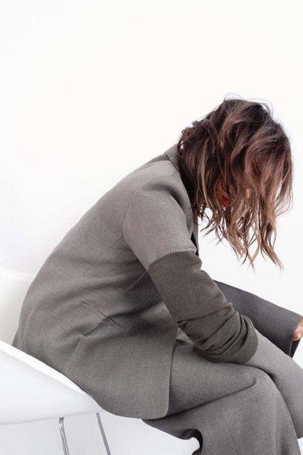 Виктория Бекхэм в странном наряде снялась для модного глянца - фото 153348