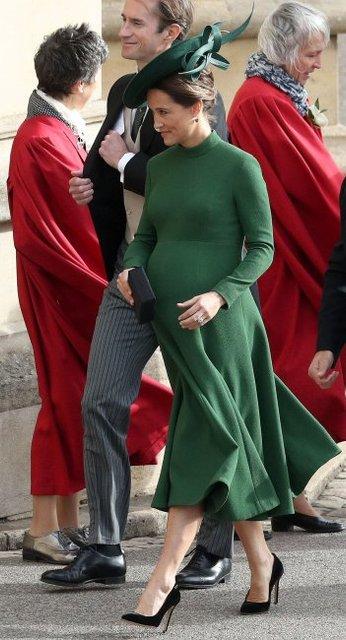 Сестра Кейт Миддлтон впервые стала мамой - фото 153500