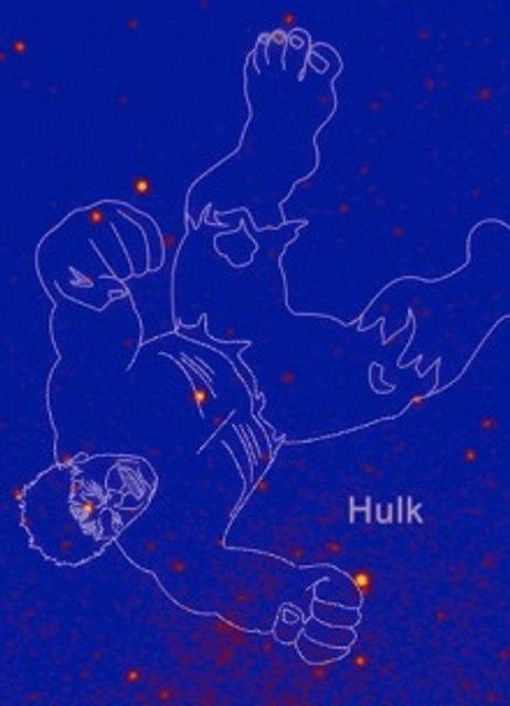 NASA открыла созвездие супергероя Халка - фото 154201