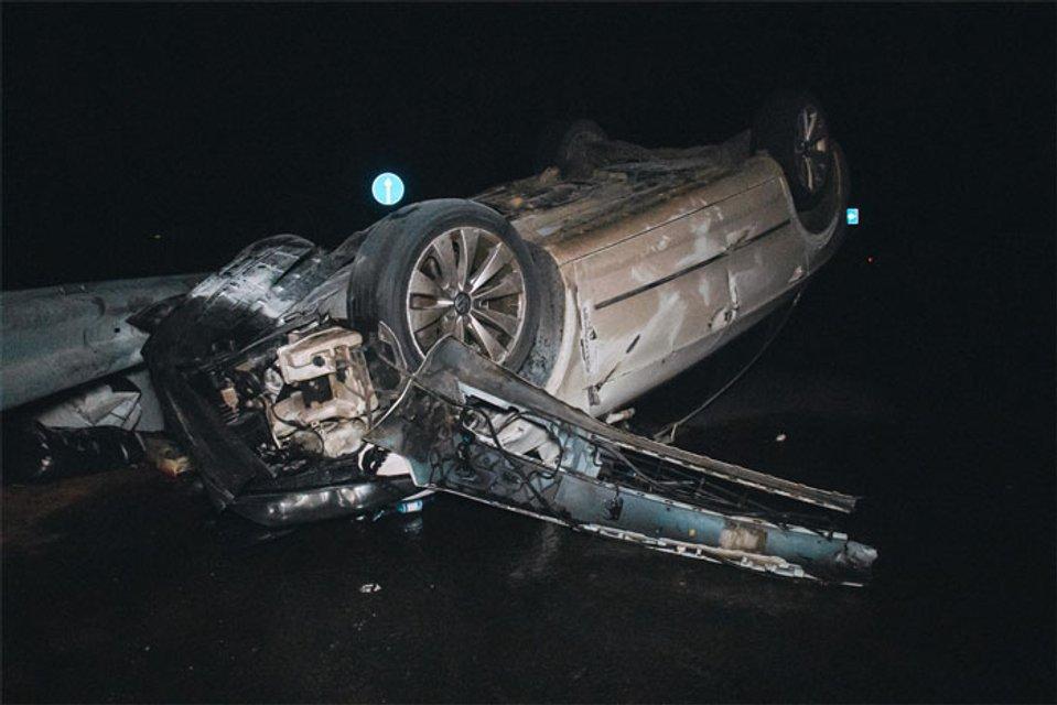 Под Киевом авто с футболистами попало в тройное ДТП - фото 154302
