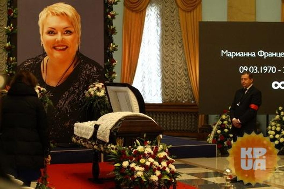 Как в Киеве простились с Мариной Поплавской (ФОТО) - фото 154319