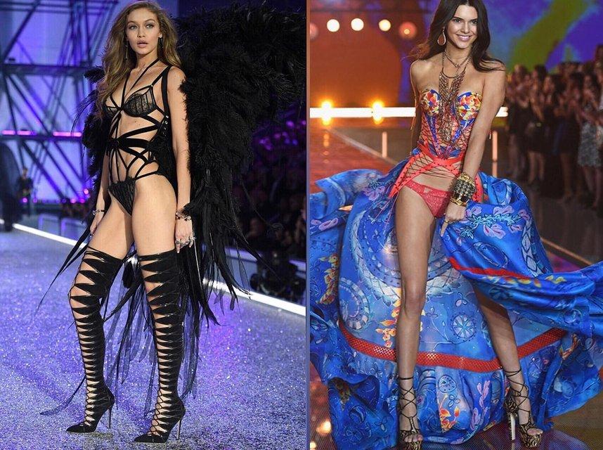 Кендалл Дженнер и Джиджи Хадид появятся в новом шоу Victoria's Secret - фото 154730