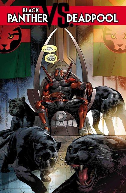 Черная пантера: главным героем станет Дэдпул - фото 155031