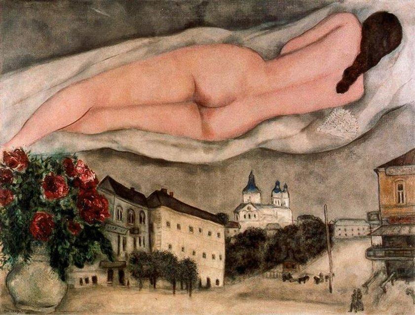 Facebook обнаружил в картине известного художника порнографию - фото 155178