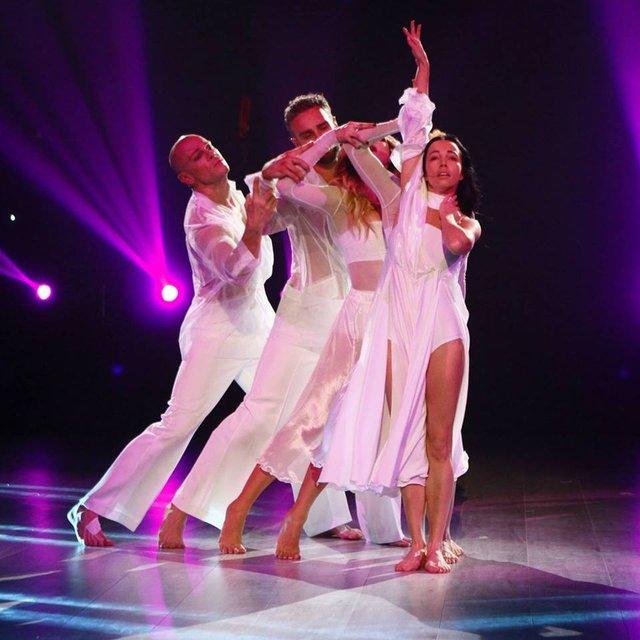 Танці з зірками 2018 10 выпуск онлайн: вечер обмена партнерами, Яма станцевал с Никитюк - фото 155757