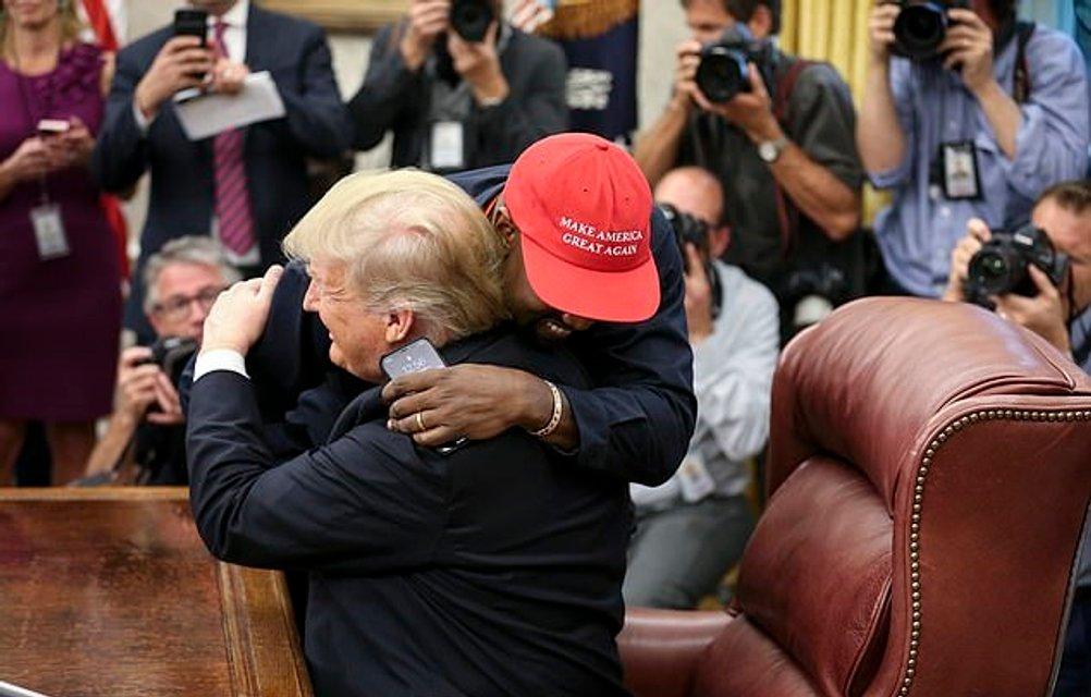 Канье Уэст выпустил линию одежды, призывающую вступать в партию Дональда Трампа - фото 155894