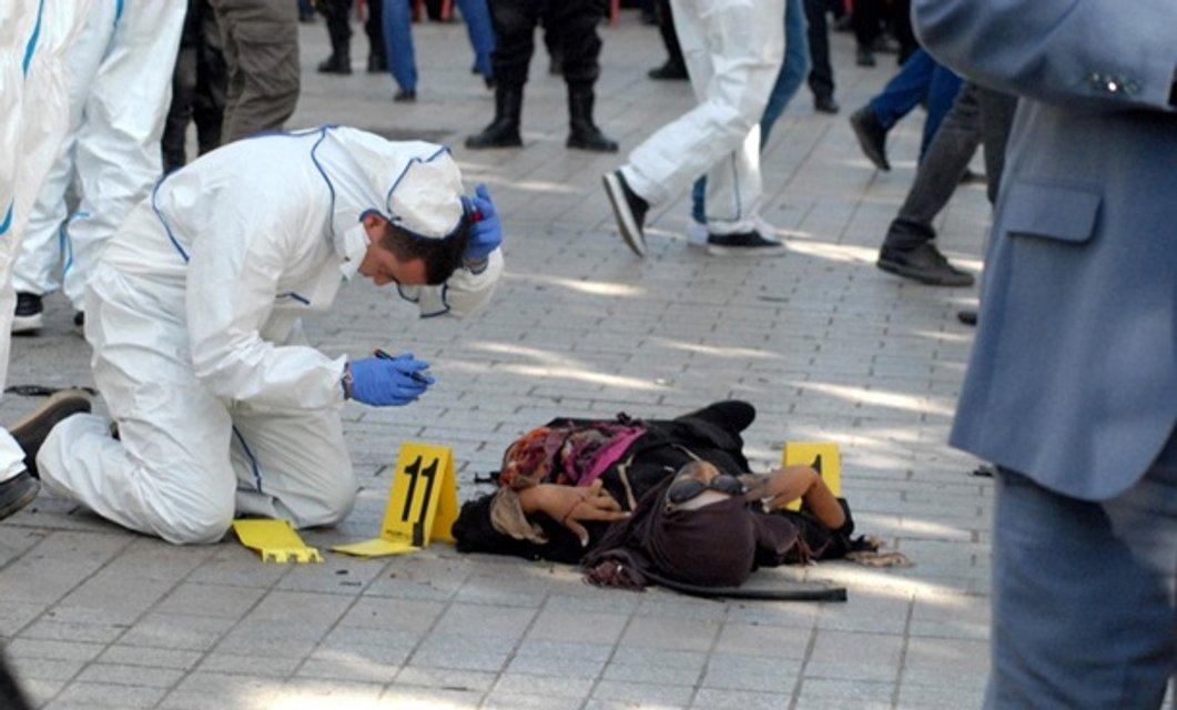 30-летняя женщина совершила террористический взрыв - фото 156074