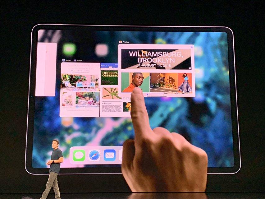 Apple презентовала новый MacBook Air и восьмиядерный планшет - фото 156170