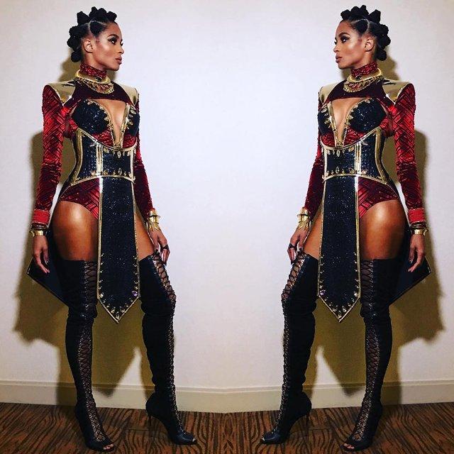 Лучшие костюмы знаменитостей на Хэллоуин 2018 (Фото) - фото 156346