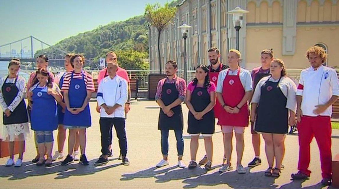 МастерШеф 8 сезон 20 выпуск онлайн: кулинарный батл мастершефов 5  и 7 сезона - фото 156524