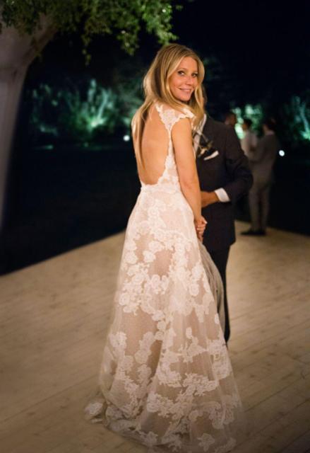 Гвинет Пэлтроу показала первые свадебные фото - фото 156981