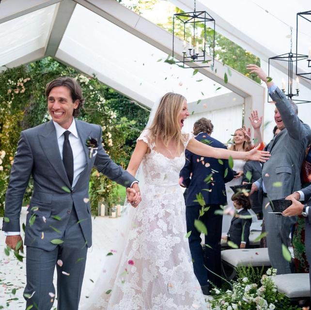 Гвинет Пэлтроу показала первые свадебные фото - фото 156982