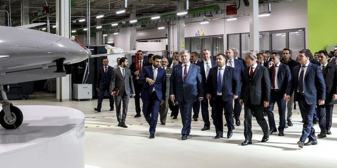 Порошенко побывал на производстве мощных беспилотников компании Baykar Makina в Турции - фото 157141