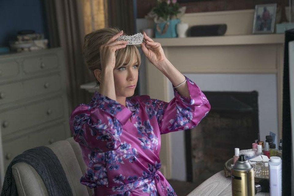 Пышка: Дженнифер Энистон на первых кадрах предстоящей комедии - фото 157447