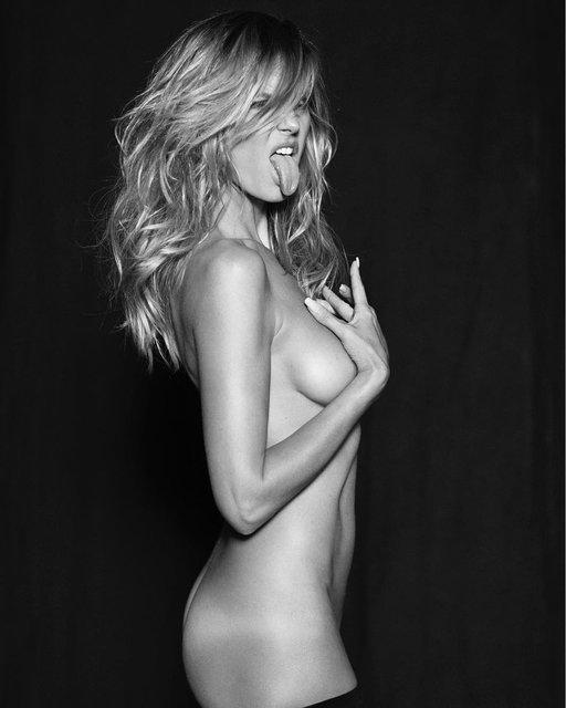 Хайди Клум впечатлила дерзкой фотосессией в купальнике - фото 157861