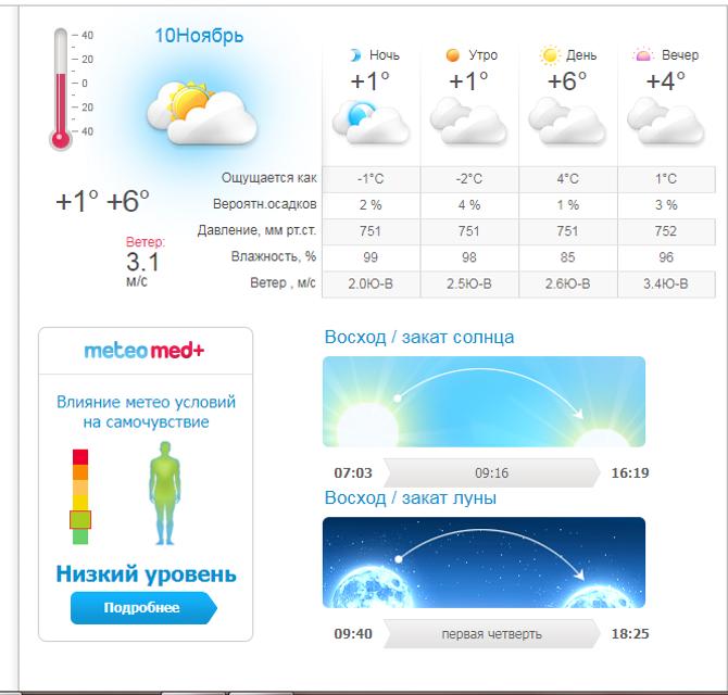 Какой будет погода в Киеве на выходных 10-11 ноября - фото 158276