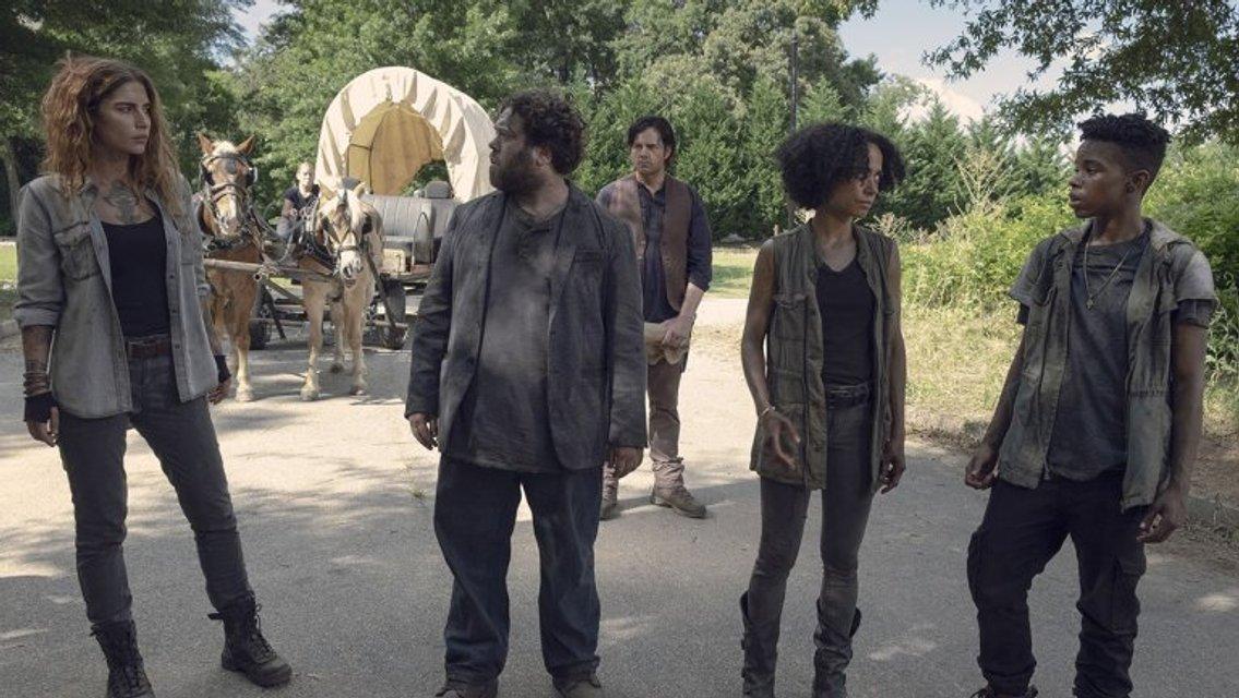 Ходячие мертвецы 9 сезон 6 серия: первое появление Шепчущихся - фото 158582