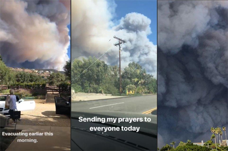 Голливуд в огне: звезды показали свои сгоревшие дома - фото 158632