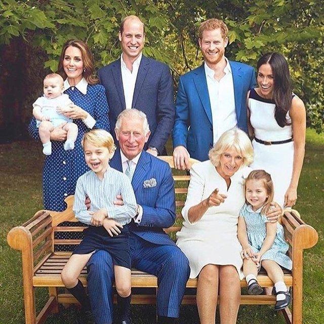 Королевская семья снялась в новой фотосессии - фото 158974