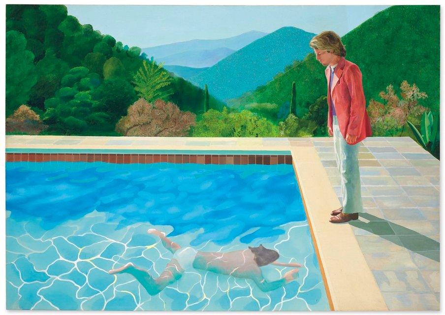 Дэвид Хокни получил за картину $90 миллионов и стал самым дорогим художним из ныне живущих - фото 159520