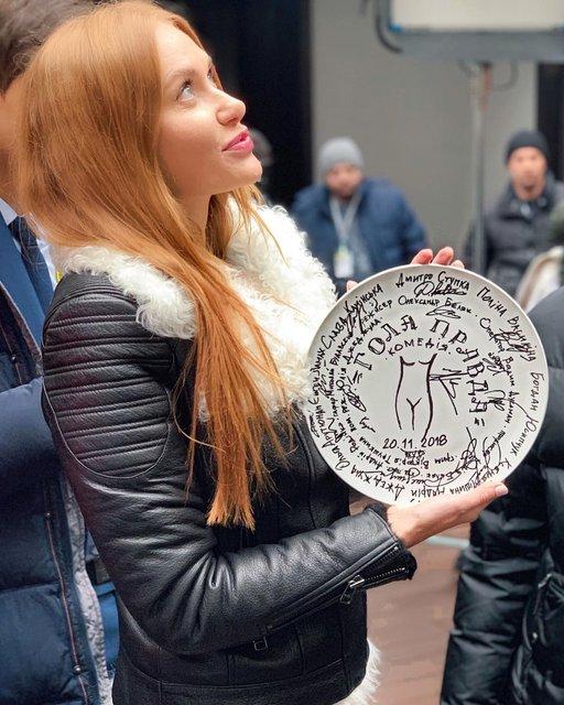 Гола правда: Слава Каминская снимается в украинском фильме - фото 160220