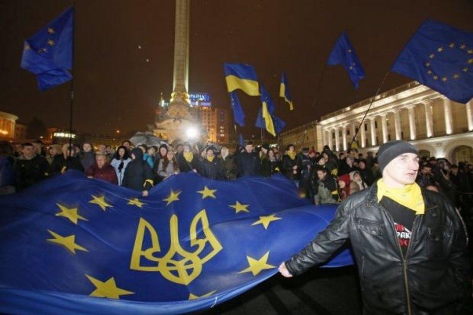 21 ноября - годовщина начала Революции Достоинства в Украине - фото 160244