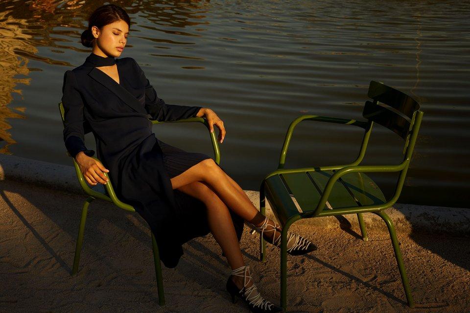 Мишель Андраде стала лицом совместной коллекции украинских брендов - фото 160963