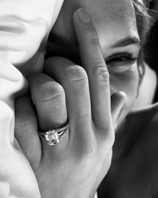 Сказка стала реальностью: ангел Victoria's Secret Жозефин Скривер выходит замуж - фото 161543