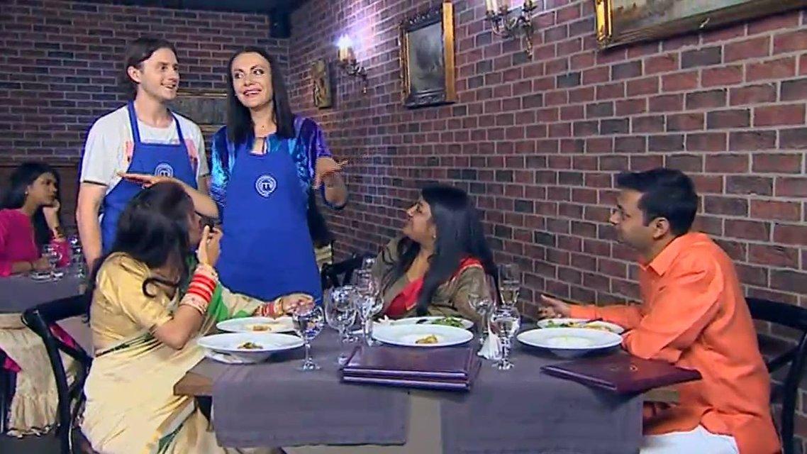 МастерШеф 8 сезон 28 выпуск онлайн: эстафета и встреча дипломатов индийского посольства - фото 161942
