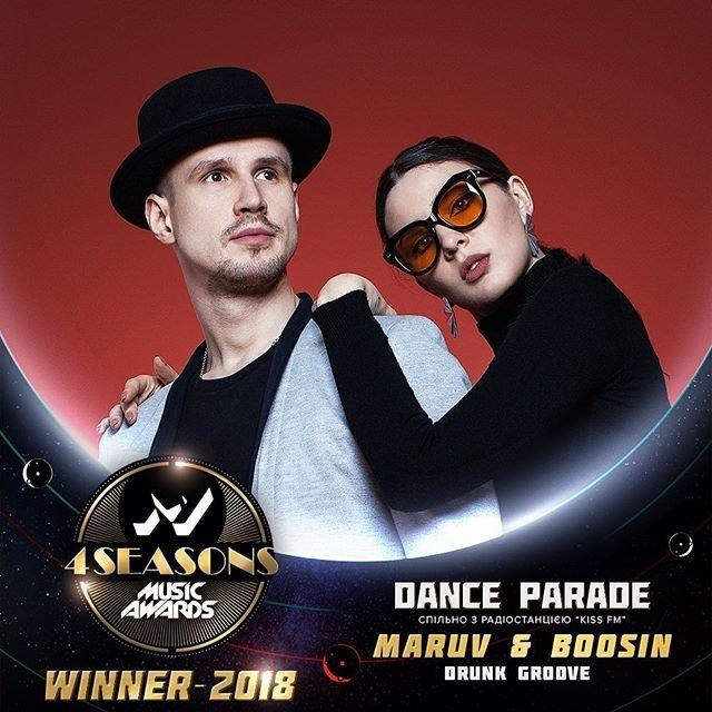 M1 Music Awards 2018. 4 Seasons: MARUV & BOOSIN - победитель 'Dance Parade' - фото 162450