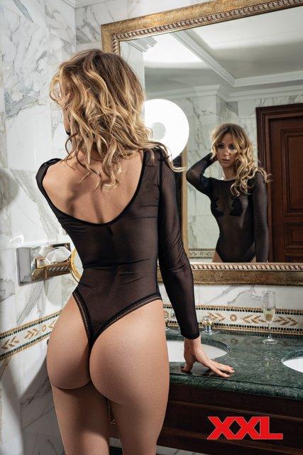 Леся Никитюк без белья снялась для мужского журнала - фото 162681