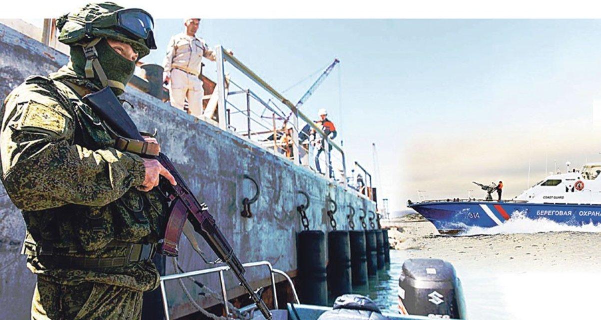 Отступление русских в Азовском море - тактическая ловушка для Украины - фото 162925