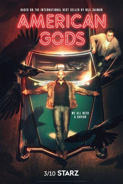 Американские Боги 2 сезон: точная дата выхода адаптации романа Нила Геймана - фото 163139