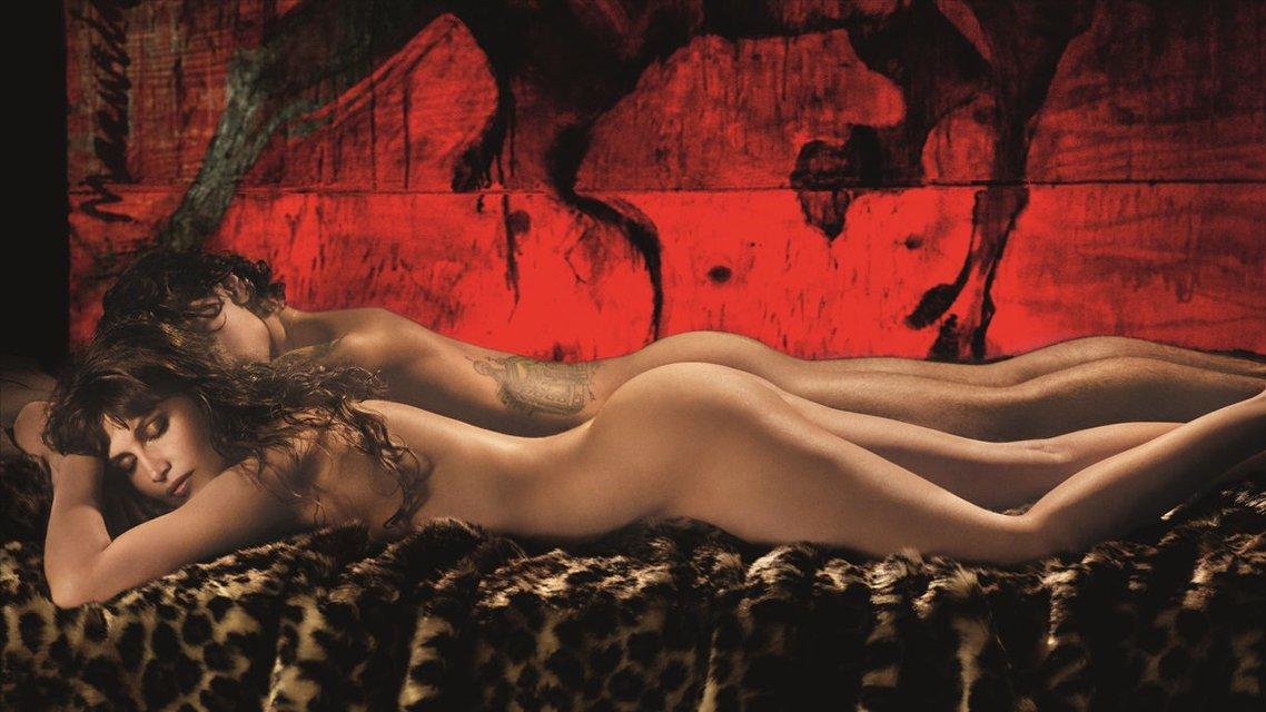 Джиджи Хадид и Летиция Каста разделись для фотосессии со скандальным Полуниным - фото 163185