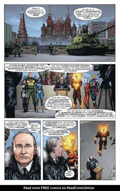 Путина высмеяли в комиксах DC - фото 163271