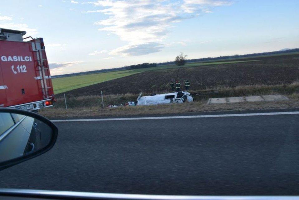 В Словении случилась авария с микроавтобусами на украинской регистрации  - фото 163750