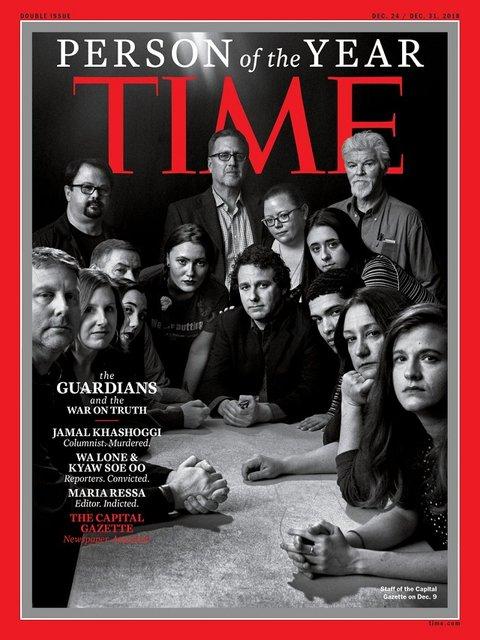 'Человеком года' по версии Time стала группа журналистов - среди них Аркадий Бабченко - фото 164114