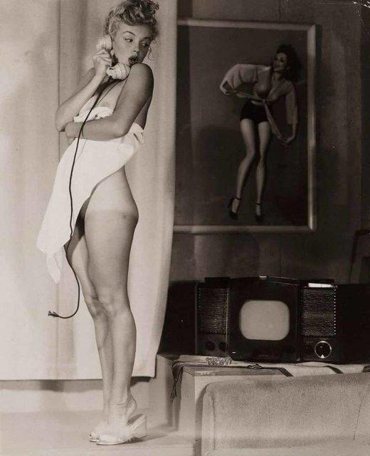 Позировала без белья: опубликованы архивные фото Мэрилин Монро - фото 164129