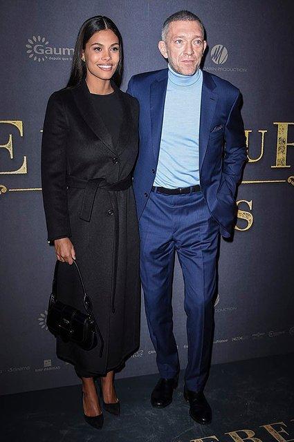Счастливые Венсан Кассель и Тина Кунаки восхитили на премьере фильма в Париже - фото 164161