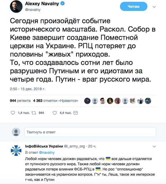 Истерика русского мира: Украина сделала последний шаг к получению Томоса - фото 164837