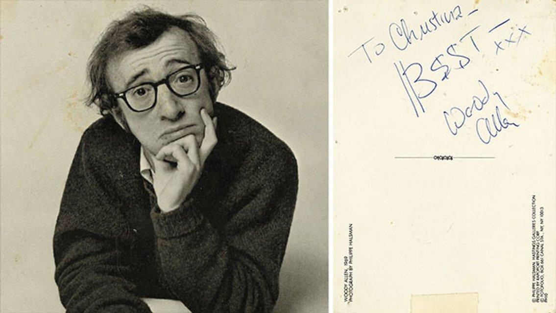 У 83-летнего Вуди Аллена был роман с несовершеннолетней моделью - фото 165179